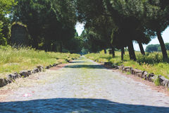 Appia Antica Στοκ Εικόνες