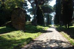 appian τρόπος της Ρώμης Στοκ Εικόνες
