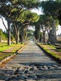 appian sposób Rzymu zdjęcia stock