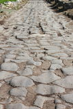 Appian way pavement Stock Photo