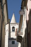 Appignano Marches, Italy, historic village. Appignano Ancona, Marches, Italy, buildings of the historic village: a typical street Stock Photo