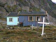 appilatoq Γροιλανδία Στοκ Φωτογραφίες