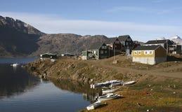 appilatoq Γροιλανδία Στοκ φωτογραφία με δικαίωμα ελεύθερης χρήσης