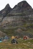 appilatoq σπίτια της Γροιλανδίας Στοκ φωτογραφία με δικαίωμα ελεύθερης χρήσης