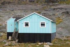 appilatoq σπίτι της Γροιλανδίας Στοκ Εικόνα