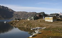 Appilatoq, Grönland Lizenzfreie Stockfotografie