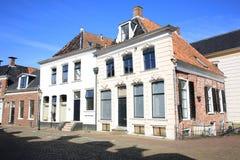 Appingedam histórico en la provincia Frisia, los Países Bajos Fotos de archivo