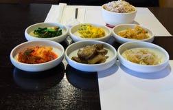 Appitazers στην κορεατική κουζίνα Στοκ εικόνες με δικαίωμα ελεύθερης χρήσης