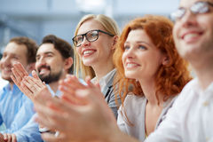 Applauding people Stock Images