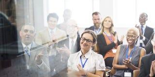 Applaus-Anerkennungs-Preis-nettes Sitzungs-Konzept lizenzfreies stockfoto