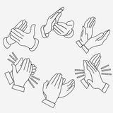 Applause, clapping hands Royalty Free Stock Images
