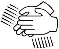 Applause sign. Clapping hands, applause symbol vector illustration