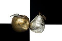 Apple和梨 免版税图库摄影