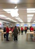 Apple存储 库存照片