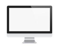 Apple查出的imac显示 免版税库存图片