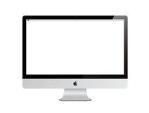 Apple计算机imac 免版税库存照片