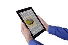 Apple计算机iPad 免版税库存图片