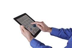 Apple计算机iPad 免版税图库摄影