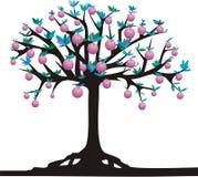 Apple-árbol ilustración del vector