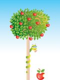 Apple-árbol Libre Illustration
