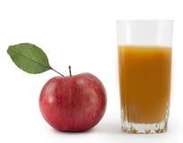 Apple äppelmust Royaltyfria Foton