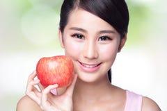 Apple är bra för hälsa Arkivbild