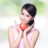Apple är bra för hälsa Fotografering för Bildbyråer