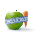 Apple è a dieta Immagine Stock