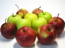Apple è la frutta di numero uno nella dieta umana di base Il gusto ed i benefici di questa frutta accessibile gli hanno guadagnat fotografia stock libera da diritti