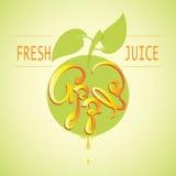 Apple Świeży sok Zdjęcie Royalty Free