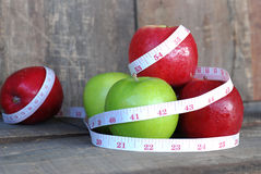 Apple, έννοια διατροφής φρούτων Στοκ φωτογραφίες με δικαίωμα ελεύθερης χρήσης