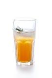 Apple ή διευκρινισμένος σταφύλι χυμός στο γυαλί Στοκ Εικόνες