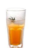 Apple ή διευκρινισμένος σταφύλι χυμός στο γυαλί Στοκ Εικόνα