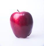 Apple ή κόκκινο μήλο σε ένα υπόβαθρο Στοκ εικόνες με δικαίωμα ελεύθερης χρήσης