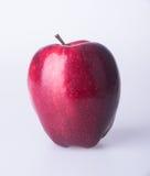 Apple ή κόκκινο μήλο σε ένα υπόβαθρο Στοκ Φωτογραφίες
