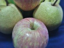 Apple για τα καλά φρούτα υγείας σας Στοκ Φωτογραφίες