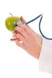 Apple για το healthness Στοκ εικόνες με δικαίωμα ελεύθερης χρήσης