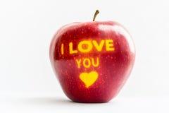Apple - δώρο Στοκ Φωτογραφία