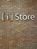 Apple ι τηλεφωνικό κατάστημα Στοκ εικόνα με δικαίωμα ελεύθερης χρήσης