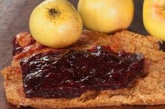 Apple και δέρμα φρούτων δαμάσκηνων Στοκ Φωτογραφίες