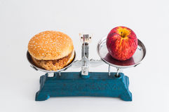 Apple και αρτοποιός Στοκ Φωτογραφίες
