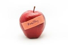 Apple και ασβεστοκονίαμα επίδεσμος ιατρικός Στοκ Εικόνες