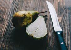 Apple και αχλάδι Στοκ εικόνα με δικαίωμα ελεύθερης χρήσης