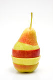 Apple και αχλάδια Στοκ Εικόνα