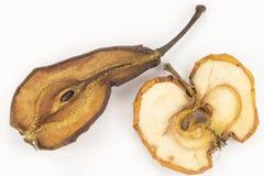 Apple και αχλάδι - ξηρές - φρούτα Στοκ φωτογραφία με δικαίωμα ελεύθερης χρήσης
