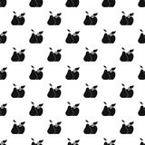 Apple και διάνυσμα σχεδίων αχλαδιών Στοκ εικόνα με δικαίωμα ελεύθερης χρήσης