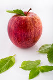 Apple και μέντα Στοκ Εικόνες