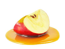 Apple και μέλι Στοκ Φωτογραφία