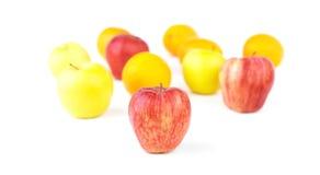 Apple και μίγμα φρούτων Στοκ φωτογραφία με δικαίωμα ελεύθερης χρήσης