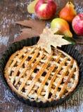 Apple και πίτα αχλαδιών Στοκ εικόνες με δικαίωμα ελεύθερης χρήσης